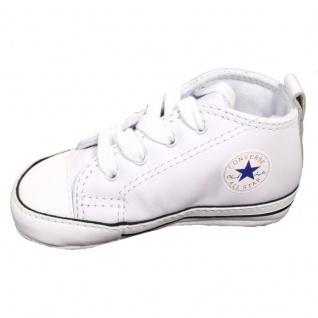 on sale 6ecbb 12132 Converse Kinder Schuhe Chucks First Star Weiß 81229 Größe 19