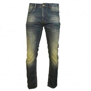 M.O.D Herren Jeans Hose Cornell Slim Crystal blue Blau Gr. 34W / 32L