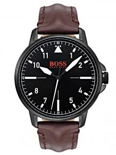 Boss Orange 1550062 CHICO Uhr Herrenuhr Lederarmband Braun