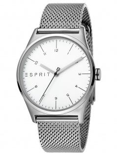 Esprit ES1G034M0055 Silver Mesh - G Uhr Herrenuhr Edelstahl Silber