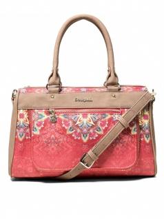 Desigual Damen Handtasche Tasche Polaris Dublin Rot