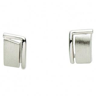 Basic Silber 01.1126 Damen Ohrstecker Silber - Vorschau 1