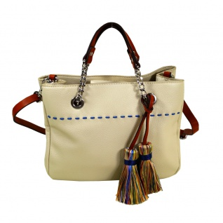 Esprit Tate City Bag Beige Hand Schultertasche Tasche 067EA1O009-E055 - Vorschau 1