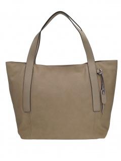 Esprit Damen Handtasche Tasche Henkeltasche Maxine shopper Beige