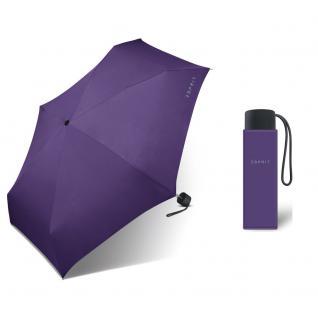 Esprit Petito viola Regenschirm Taschenschirm Schirm