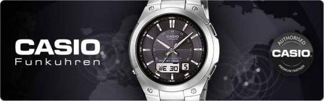 CASIO WV-200E-1AVEF WAVE CEPTOR Funkuhr Uhr schwarz - Vorschau 2