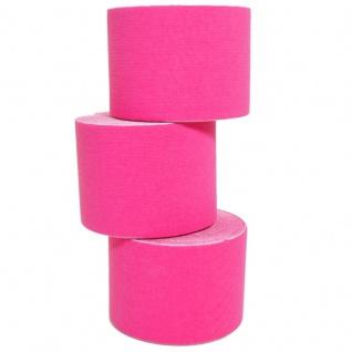 100 Rollen Kinesiologie Tape 5 m x 5, 0 cm pink (EUR 0, 492 / m)