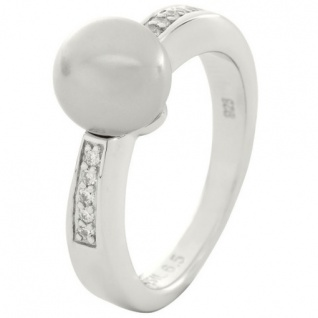 Fossil JFS00016040505 Damen Ring Sterling-Silber 925 16, 9 mm Größe 53