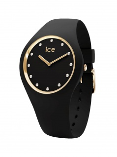 Ice-Watch 016295 ICE cosmos Black shades Medium Uhr Damenuhr Schwarz