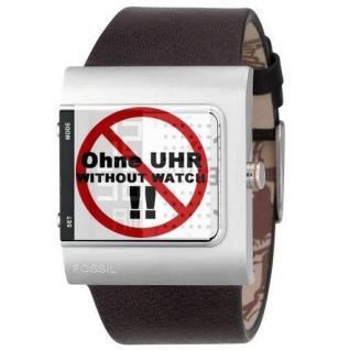 Fossil Uhrband LB-JR9387 Original Lederband für JR 9387