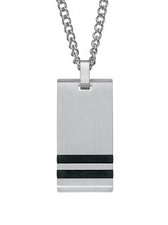 s.Oliver 2020900 Herren Collier Edelstahl Silber 50 cm