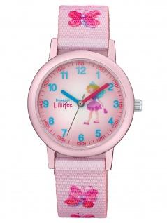 Prinzessin Lillifee 2031756 Schmetterling Uhr Mädchen Kinderuhr