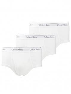 Calvin Klein Herren Unterwäsche 3er Pack Brief S Weiß NB1389A-100