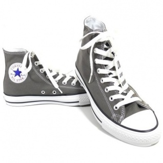 Converse Damen Schuhe All Star Hi Grau 1J793 Chucks Sneakers Gr. 38 - Vorschau 1