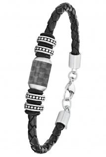 s.Oliver 2026108 Herren Armband Edelstahl Silber 22 cm