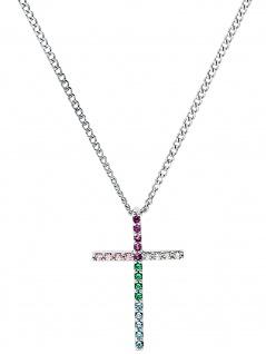 Prinzessin Lillifee 2031165 Mädchen Collier Kreuz 925 Silber 38 cm