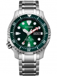 Citizen NY0100-50X Automatik Taucheruhr Diver´s Uhr Herrenuhr Titan