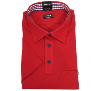 Eterna Polo Shirt Kurzarmhemd 2203/55/U577 Comfort Fit Rot Gr. L/42