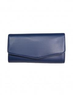 Esprit Damen Geldbörse Portemonnaies Fay Flat Clutch Blau