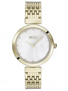 Hugo Boss 1502479 Uhr Damenuhr Edelstahl Gold