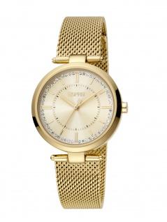 Esprit ES1L251M0055 Zea Uhr Damenuhr Edelstahl gold