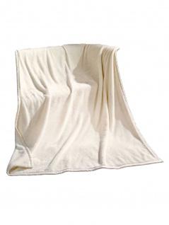 Rally Fashion Zarah Super-Flausch-Decke Weiß 150 x 200 cm