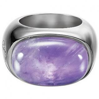 Esprit ESRG-91484.B Damen Ring Silber soloist amethyst Amethyst Größe 53 (17, 0 mm)