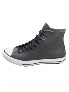 Converse Herren Schuhe CT All Star Winter Hi Grau Leder Sneakers 44.5