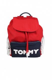 Tommy Hilfiger Rucksack Daypack TOMMY Nylon Backpack 10L Rot