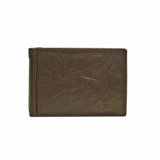 Fossil Geldbörse Neel Money Clip Bifold Braun Herren Portemonnaie