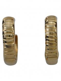 Gerry Eder 05.EG515 Damen Creolen 14 Karat (585) Gelbgold Gold - Vorschau 1