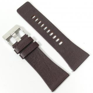Diesel Uhrband LB-DZ4191 Original DZ 4191 Lederband 30 mm