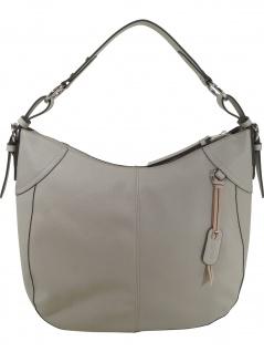 Esprit Damen Handtasche Tasche Henkeltasche Lydia hobo Grau
