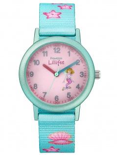 Prinzessin Lillifee 2031754 Seestern Uhr Mädchen Kinderuhr Stoffband