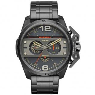 Diesel DZ4363 Chronograph Uhr Herrenuhr Edelstahl Chrono Datum grau