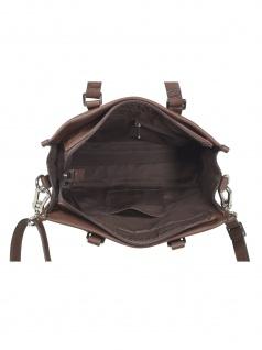 Esprit Damen Handtasche Tasche Henkeltasche Kayla City Bag Braun - Vorschau 2