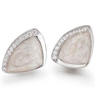 Basic Silber 01.EX424 Damen Ohrstecker Silber