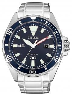 Citizen BM7450-81L Uhr Herrenuhr Edelstahl Datum Silber