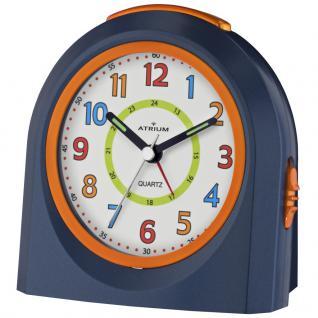 ATRIUM A921-5 Wecker Alarm Analog blau orange