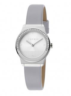 Esprit ES1L091L0015 Magnolia Mini Stones Uhr Lederarmband Grau