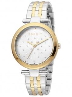 Esprit ES1L167M0105 Fine Dot Gold Uhr Damenuhr Edelstahl bicolor