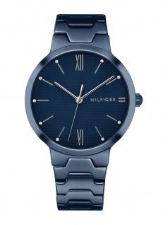 Tommy Hilfiger 1781955 AVERY Uhr Damenuhr Edelstahl Blau