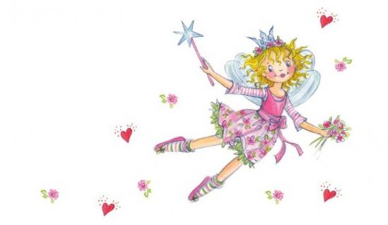 Prinzessin Lillifee PLFS/57 Mädchen Ohrstecker Pferd pink Silber - Vorschau 2