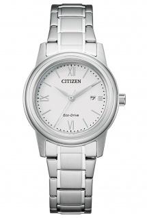 Citizen FE1220-89A Eco Drive Uhr Damenuhr Edelstahl Datum silber