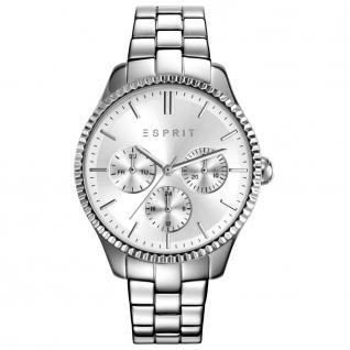 Esprit esprit-tp10894 silver Uhr Damenuhr Edelstahl Datum silber