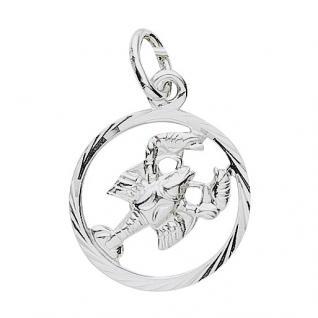 Basic Silber 24.9019SKR Damen Anhänger Sternzeichen Krebs Silber