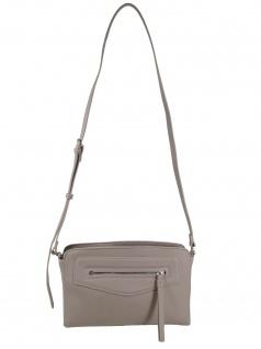 Esprit Damen Handtasche Tasche Kerry med shoulderbag Grau