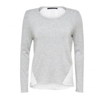 Only Damen Pulli Strick METTE Mix Pullover Knit Grau L 15107101-1