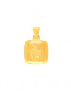 Gerry Eder 24.9022STB Anhänger Steinbock 14 Karat (585) Gelbgold Gold