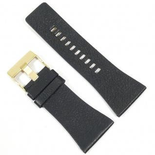 Diesel Uhrband LB-DZ7196 Original DZ 7196 Lederband 34 mm